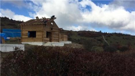 Menderesleriyle ünlü yaylaya tatil köyü inşa ediliyor