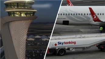 Dünyanın en büyük yakıt ikmal sistemi İstanbul Havalimanı'nda!