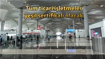 İstanbul Havalimanı elektrik ve su tasarrufu yapacak