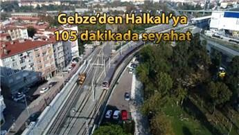 Halkalı-Gebze banliyö hattının yüzde 90'u tamamlandı
