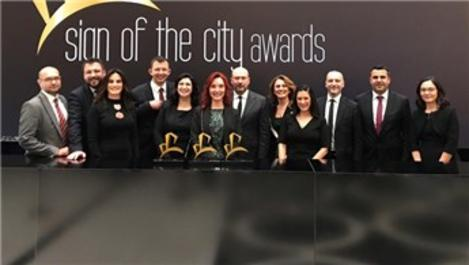 Tahincioğlu, Sign Of The City Awards'da 3 ödül aldı