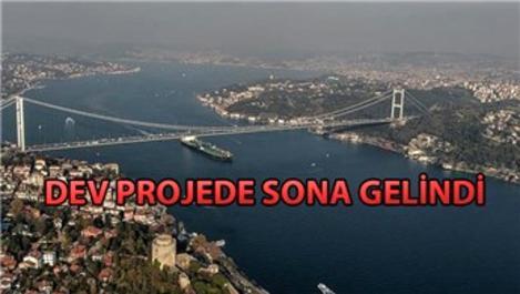 Büyük İstanbul Tüneli'nde çalışmalar son aşamada!