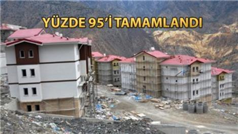 Yusufeli yerleşim yeri projesi tüm hızıyla inşa ediliyor