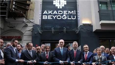 Akademi Beyoğlu açıldı