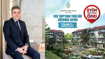 Ege Yapı'dan 'Evin Yapıldıkça Öde' kampanyası!