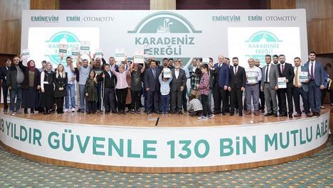 Eminevim'den Karadeniz'de 60 tapu