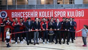 Bahçeşehir Koleji antrenman salonuna kavuştu