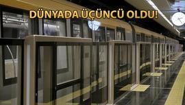 Üsküdar-Sancaktepe metrosu Avrupa birincisi seçildi