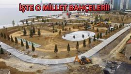 İstanbullular 5 millet bahçesine kavuşuyor