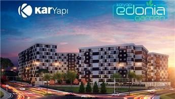 Edonia Garden'da daire fiyatları 249 bin liradan başlıyor