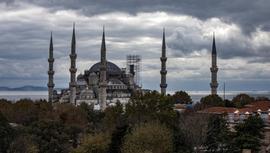 Sultanahmet Camisi'nin minaresi söküldü!