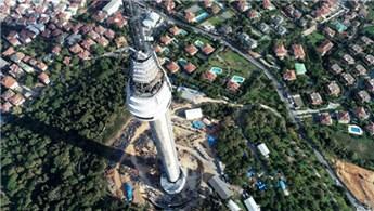 Çamlıca Kulesi'nin açılış tarihi belli oldu