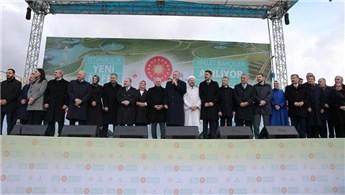 İstanbul'daki 5 millet bahçesinin açılış töreni yapıldı