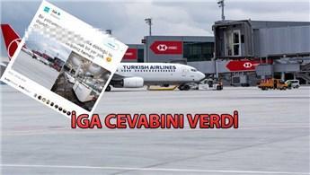 İstanbul Havalimanı'nı 'su bastı' iddialarına yanıt!