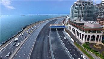 Büyükyalı'yı sahile bağlayan köprünün ilk etabı tamamlandı