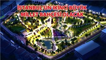 Zeytinburnu Millet Bahçesi için çalışmalar başlıyor