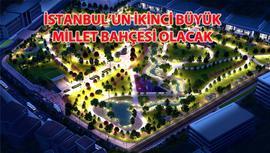 Zeytinburnu Millet Bahçesi için ilk kazma yakında vurulacak