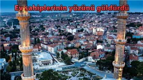 İmar barışı ile Edirne'deki konutlar değerlendi