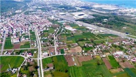 Samsun'da 10 milyon 499 bin TL'ye satılık arsa