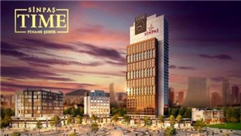 Sinpaş Time Finans Şehir'de daireler 442 bin TL'den satışta