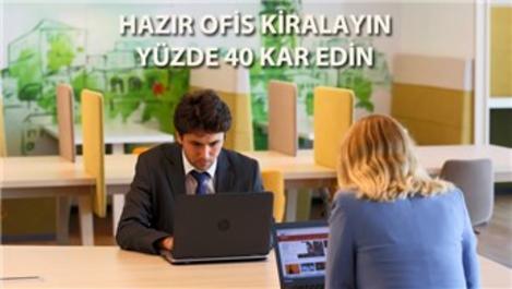 Hazır ofis kiralayanlar yılda 45 bin TL tasarruf sağlıyor