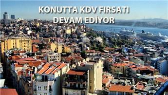 KDV ve tapu harcı indirimi 31 Aralık'a kadar sürecek