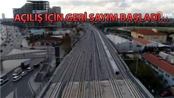 Halkalı-Gebze tren hattının yüzde 94'ü tamamlandı