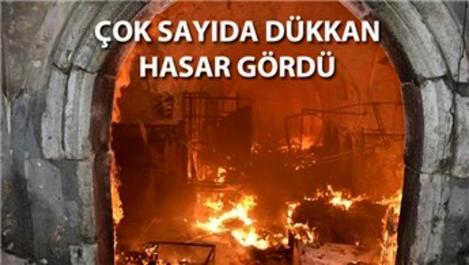 Osmanlı mirası Tarihi Kayseri Çarşısı'nda yangın!