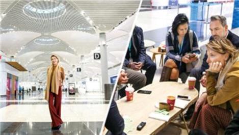 Gülse Birsel İstanbul Havalimanı'nı teftiş etti!