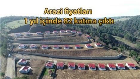 Bursa'da Hobi Evleri Projesi ile arazilerin değeri arttı