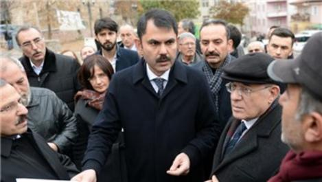 Bakan Murat Kurum Tokat'ta incelemelerde bulundu