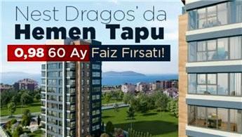 Nest Dragos'ta 31 Aralık'a kadar 0 KDV avantajı!