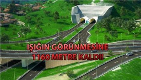 Salarha Tüneli'nde sona gelindi