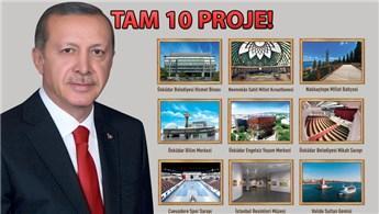 Cumhurbaşkanı Erdoğan, Üsküdar'daki projeleri hizmete açacak
