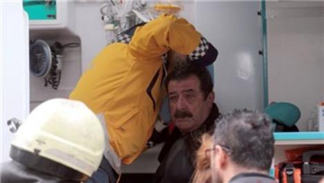 Sinema sanatçısı Tarık Pabuççuoğlu'nun evinde yangın çıktı