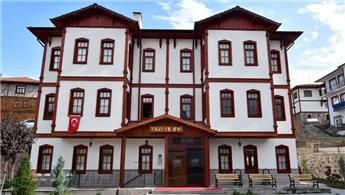 Çamlıdere'de binaların tamamı beyaza boyanıyor
