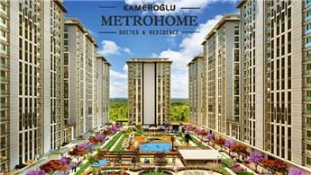 Metrohome Residence'da yüzde 30 peşinatla 48 ay taksitlendirme!