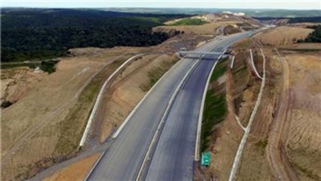 Kuzey Marmara Otoyolu'nda bir bölüm daha trafiğe açıldı
