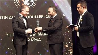 Ünlü iç mimar Ahmet Güneş'e yılın en iyi iç mimarı ödülü