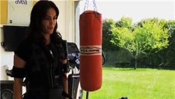 Zeynep Sever, lüks villalarına spor salonu yaptırdı