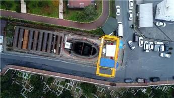 İlk yerli makine ile içme suyu tüneli kazı çalışmaları tamamlandı