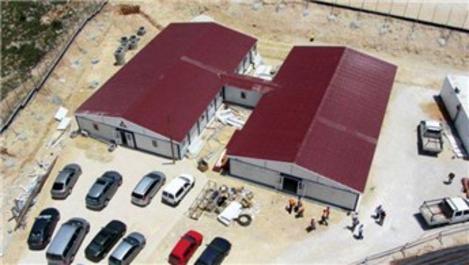 Karmod, Filistin Tarım Bakanlığı'na konteyner ofis kurdu