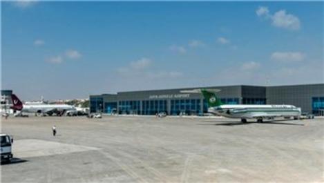 Somali Mogadişu Havalimanı, Permolit Boya ile boyanıyor