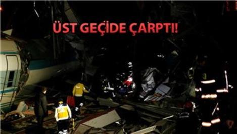 Ankara'da YHT kaza yaptı!