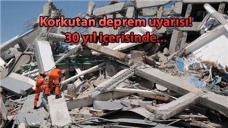 'İstanbul'da büyük bir depremin olacağını biliyoruz'