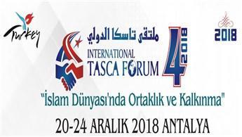 IV. Uluslararası Tasca Forumu 20 Aralık'ta başlayacak