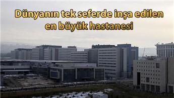 Bilkent Şehir Hastanesi'nin açılışına sayılı günler kaldı!