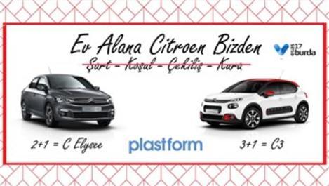Plastform'dan ev alana araba hediye!