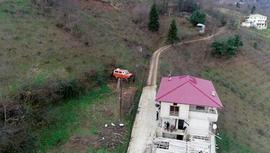 Trabzonlu vatandaş minibüsten kış bahçesi yaptı!