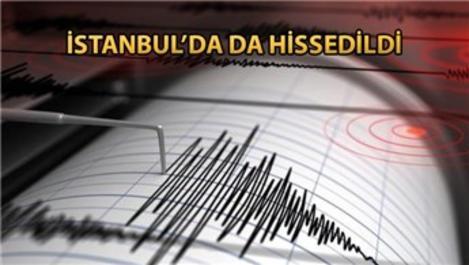 Yalova'da 4,5 büyüklüğünde deprem!